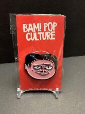 Addams Family - Bam Box Enamel Fan Art Pin