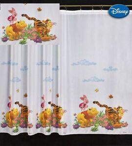 Luxury Disney WINNIE THE POOH Net Curtain  Top top 75CM X 150CM