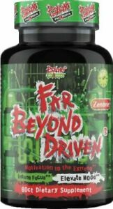 Psycho Pharma Far Beyond Driven 60ct Mood & Energy Formula 10/22EXP