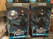 Marvel Legends Fantastic 4 Super Skrull Mr Fantastic & Invisible Woman  *No BAF