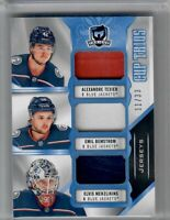 2019-20 UD The Cup Elvis, TEXIER, BEMSTROM CUP TRIOS 3 COLOR 11 OF 33