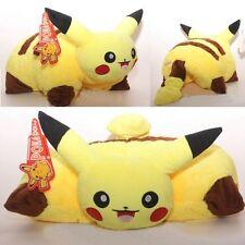 "17.5"" Pokemon Pikachu Pillow Pet Plush Cushion Transforming Pillow Cushion Doll"