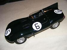 Jaguar  D Type  RARE  LARGE  1/12th scale by  Autoart