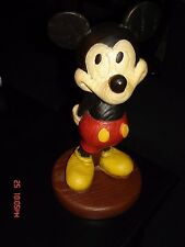 "1970's Vintage 10"" Mickey Mouse Statue - High Quality Walt Disney W