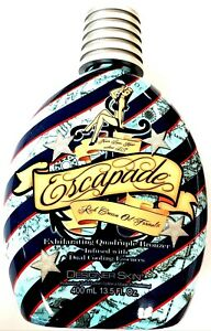 Designer Skin Escapade Quadruple Bronzer Tanning Bed Lotion 13.5oz