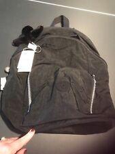 NWT Kipling Ridge Black Nylon Backpack-Style BP3989