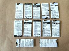 Lot of 12 SanDisk Sansa c200 c240 c250 25-57-00065 battery for parts sold as is