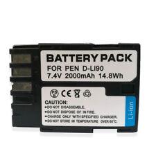 D-LI90 Replacement Battery for Pentax K-1 DSLR, K-01, K-3, K-3 II, K-5, K-5 II