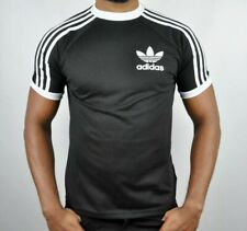 Adidas 3 Stripes T-Shirt Crew Neck Short Sleeves Size - L