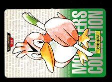 POKEMON BANDAI 1996 GREEN MONSTERS COLLECTION N°   83 FARFETch'D CANARTICHO