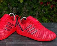 BNWB & Genuine adidas originals ZX Flux ADV ® Red / Black Trainers Various Sizes