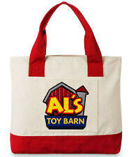 Official Disney Store Toy Story 2 Als Toy Barn Tote Bag Large Shopper Zipped