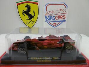 1/43 Ferrari F2007 #6 Raïkkönen IXO