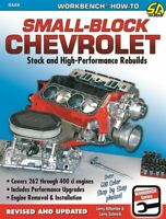 Small Block Chevrolet 262 283 302 305 327 350 400 Stock High Performance Rebuild