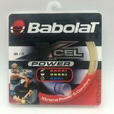 Tennis Racquet String Babolat Xcel Power Xtreme Power & Comfort 125/17 New