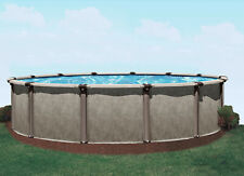 """New listing  27"""" Round Above Ground Resin Swimming Pool > 40 Yr Warranty > Patriot Pool"""