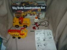 Vintage Tomy Big Bolt Construction Set in the Original Box
