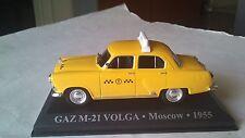 1/43 GAZ M-21 VOLGA   MOSCOW 1955 DEAGOSTINI ALTAYA IXO IST