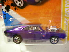 Hot Wheels '70 Dodge Charger R/T 2011 New Models Purple