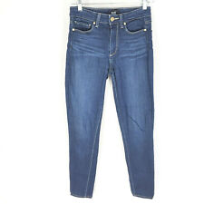 Paige Hoxton High Rise Skinny Ankle Jeans in Calani Color Size 27