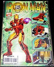 Marvel Comics IRON MAN: THE END #1 NM 1-Shot Special Invincible Avengers Stark