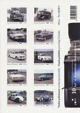 FINNLAND - 2013 MEINE MARKE 2247 POLIZEI AUTOS POLICE CARS FOLIENBLATT **