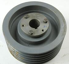 5TB89 5 VEE PULLEY-9-3/8 OD-BROWNING- WITH 1-5/8 BUSHING  (S21)