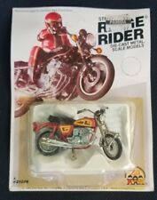 "1980 ZEE TOYS DIECAST 3"" LONG HONDA 750 RIDGE RIDER NEW ON CARD HONG KONG"