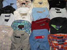 Burma Bibas, Kenneth Cole, REI etc. LOT 16 Men Large S/S B/F Shirts (LOT 2400)