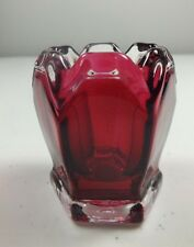 Excellent NTHCS 2005 Ruby Stain Fenton Glass Toothpick Holder ~ Only 35 Made!