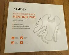 New! ATMOKO Electric Neck Shoulder Back Heating Pad for Back Pain Model HP093A.
