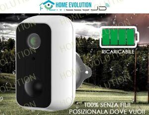 Homcloud ME-WCS11 Telecamera 2mpx wi-fi Snap11 a batteria OUTDOOR