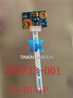 for HP Pavilion X360 11-N Probook 470 G2 Power Button Board 755733-001 LS-B151P