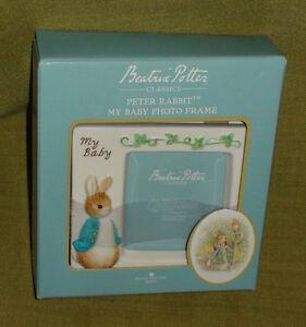 """Beatrix Potter"" Peter Rabbit ""My Baby"" Photo Frame"