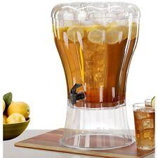 Large Beverage Dispenser Juice Unbreakable Jar Serving Party Drink 3.5 Gallon