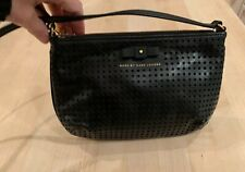 Marc by Marc Jacobs Sophisticato Bow w/Perforated Leather Crossbody Bag in Black
