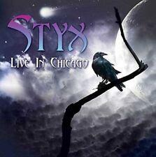 Styx - Live in Chicago (2015)  CD  NEW/SEALED  SPEEDYPOST