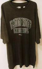 New England Patriots Mens Plus Size NFL Team Apparel Logo T-Shirt New 4XL