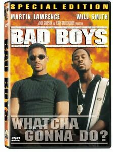 Like New WS DVD Bad Boys - Special Edition Martin Lawrence Will Smith Téa Leoni