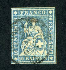 Switzerland, Scott #26, Used, 1855