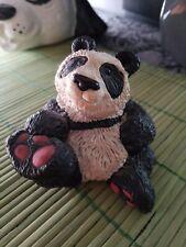Don James Panda Signed Figurine 1980s Rare Figure Don James Nature Animals