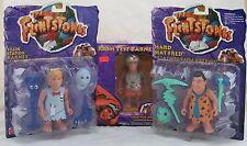 The Flintstones 3 Piece Lot Crash Test & Fillin Station Barney, Hard Hat Fred