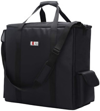 Bubm Desktop Computer Carrying Case, Padded Nylon Carry Tote Bag For Transportin