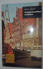 TARGA AUTO raccontare-Kurt A. Wolff-di città tedesche paesaggi U.