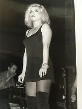 More details for  blondie- debbie harry -early  vintage-  london features ex con -6 x 8  ins-vgc