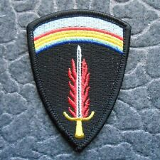 """Flaming Sword of Freedom with Rainbow Patch - Military Patch - 2 1/8"""" x 3"""""""