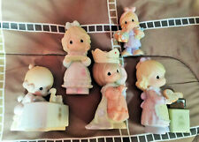 Vintage Precious Moments *(Lot Of Five)* Young Girls Assorted Figurines