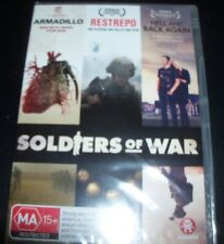 Soldiers Of War (Armadilo/Restrepo/Hell & Back Again) (Aust Region 4) DVD – New