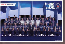 Carte Postale *** Equipe / Team * Paris SG - 2012 / 2013
