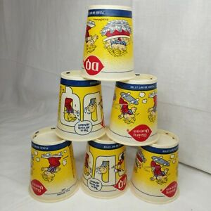 NOS Dairy Queen Dennis the Menace 10/12oz Wax coated Cups Lot of 6 (Unused) 1984